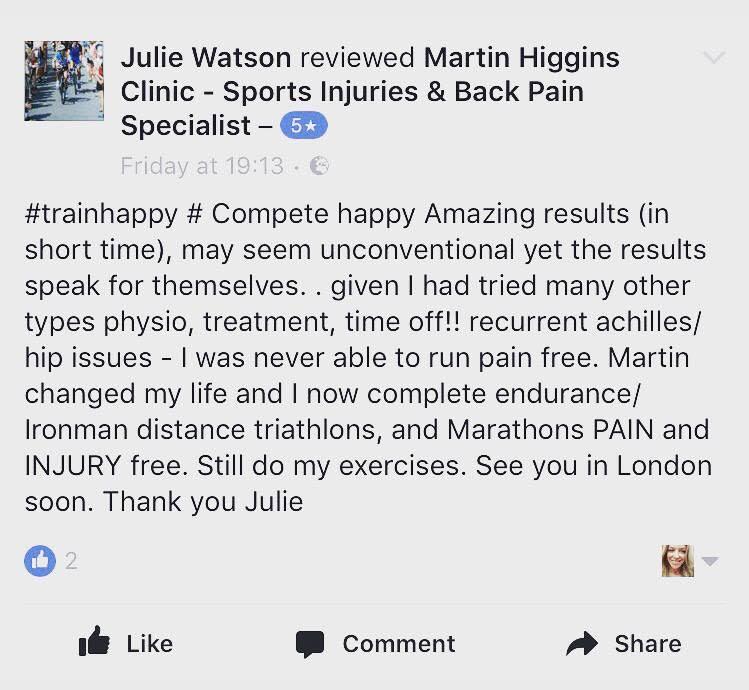 best sports physiotherapist london