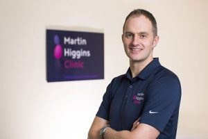Martin Higgins Sports Injury Clinic Marylebone