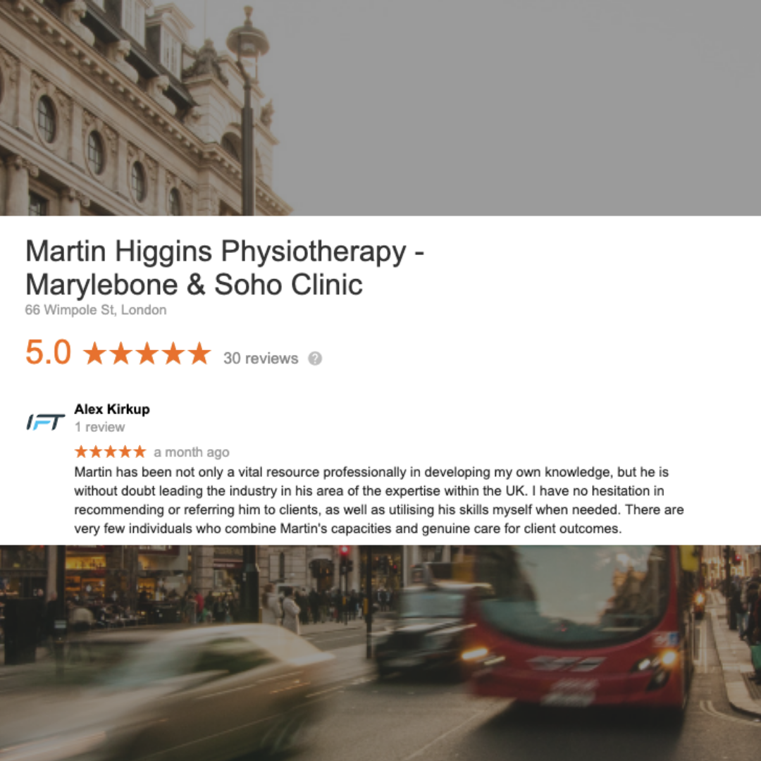Google Review The Best Physio London UK Mobile